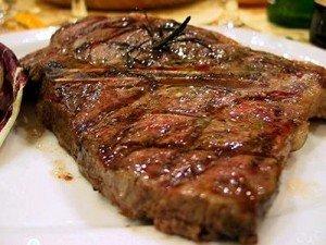 Carne rossa alla griglia